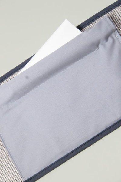 画像2: べっぴん帯板 裏ワザ芯棒入りポケット&ベルト付き(大)